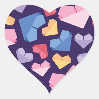 Adesivo Coração Coração