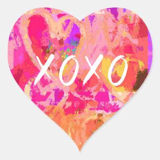 Adesivo Coração Coração dos namorados de XOXO