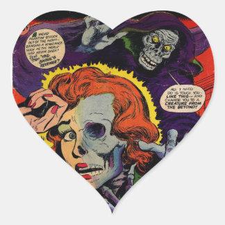 Adesivo Coração Corredor do amor