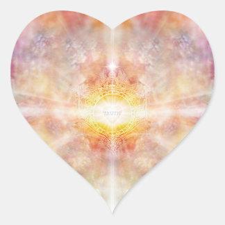 Adesivo Coração Crista H055 da verdade