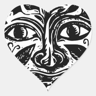 Adesivo Coração cultura