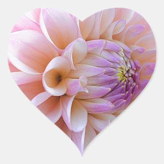 Adesivo Coração Dália Hued Pastel