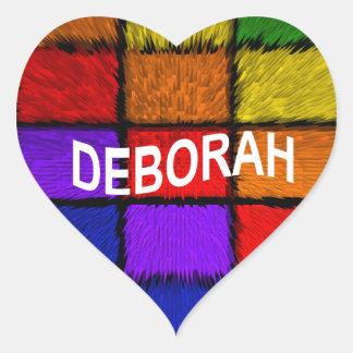 ADESIVO CORAÇÃO DEBORAH