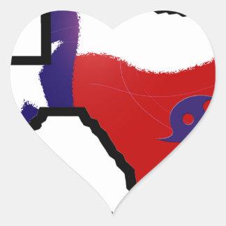 Adesivo Coração Design 3 de Harvey