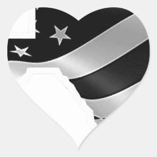 Adesivo Coração Design txt.gif branco de Harvey