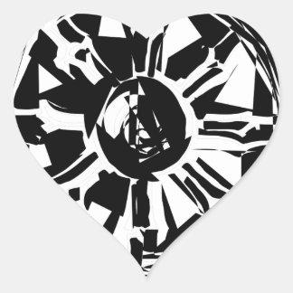 Adesivo Coração dharma
