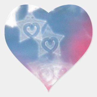 Adesivo Coração Dia da Independência