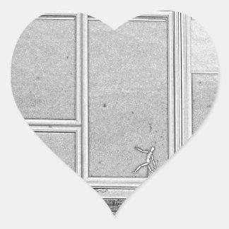 Adesivo Coração dimensão