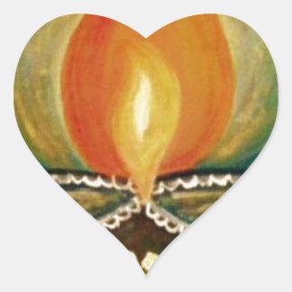 Adesivo Coração diya iluminado