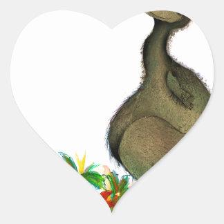 Adesivo Coração dodo do amor dos fernandes tony