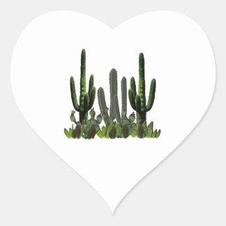 Adesivo Coração Domínio do deserto