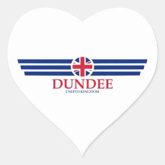 Adesivo Coração Dundee