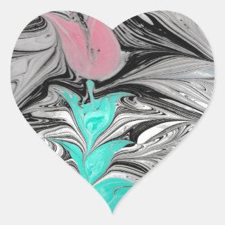 Adesivo Coração Ebru