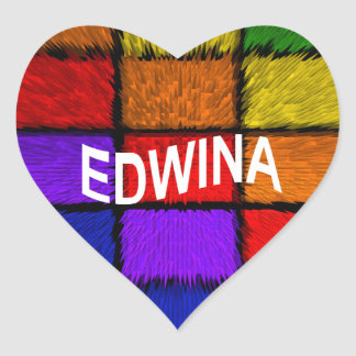 ADESIVO CORAÇÃO EDWINA