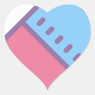 Adesivo Coração Eliminador