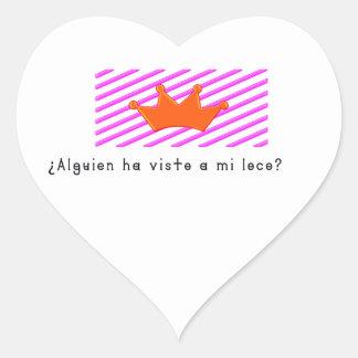 Adesivo Coração Espanhol-Tolo