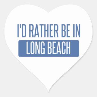 Adesivo Coração Eu preferencialmente estaria em Long Beach CA