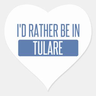 Adesivo Coração Eu preferencialmente estaria em Tulare