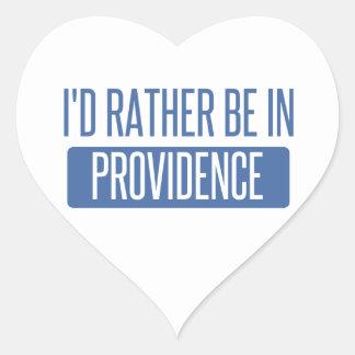 Adesivo Coração Eu preferencialmente estaria no providência