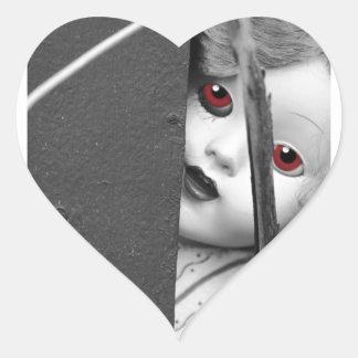 Adesivo Coração Eu ver o