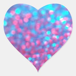 Adesivo Coração Faísca