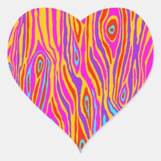 Adesivo Coração Falso Bois do pop