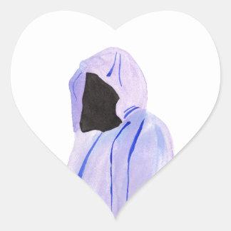 Adesivo Coração Figura Cloaked