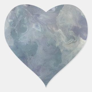 Adesivo Coração Frio do Lilac