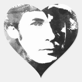 Adesivo Coração Glenn Gould