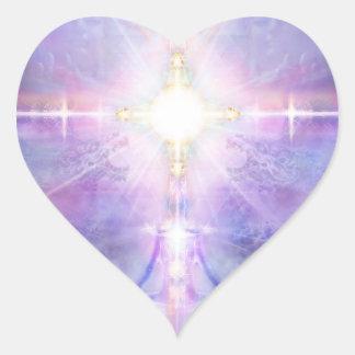 Adesivo Coração Gosto da divindade 81 V081