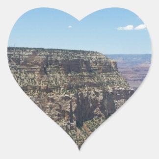 Adesivo Coração Grand Canyon - borda sul