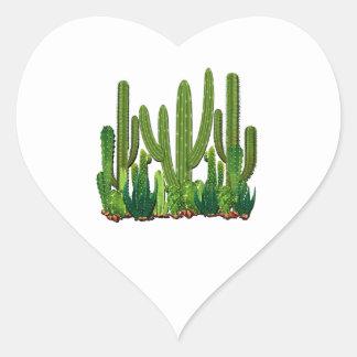 Adesivo Coração Habitat de Sonoran