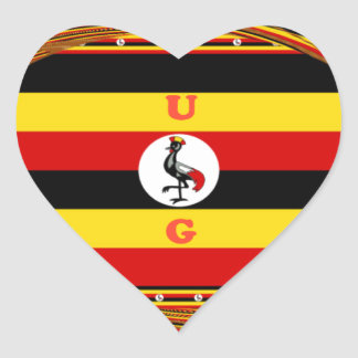 Adesivo Coração Hakuna surpreendente bonito Matata Uganda bonito