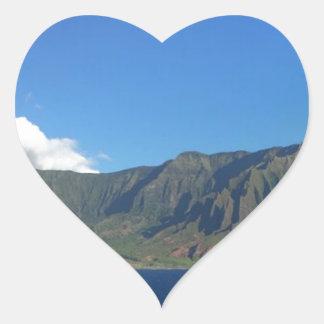 Adesivo Coração Havaí