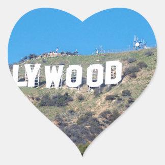 Adesivo Coração Hollywood Hills