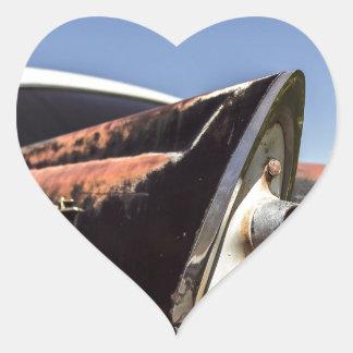 Adesivo Coração Hot rod