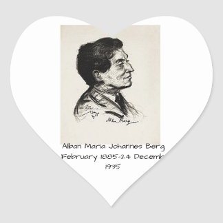 Adesivo Coração Icebergue de Albán Maria Johannes