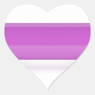 Adesivo Coração Ideia dianteira do dumbbell cor-de-rosa