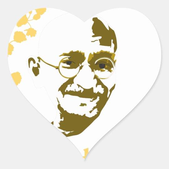 Adesivo Coração Líderes pela Paz