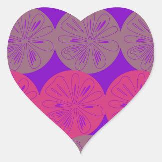 Adesivo Coração Limões do design, bio olhar