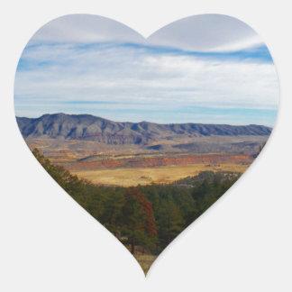 Adesivo Coração Lince Ridge Colorado