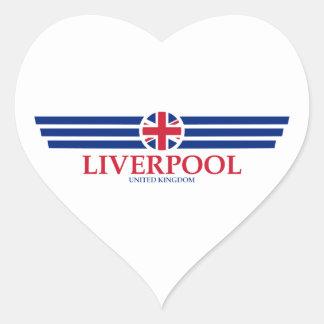 Adesivo Coração Liverpool