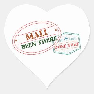 Adesivo Coração Mali feito lá isso