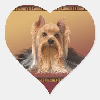 Adesivo Coração Maltês no ano novo chinês do design asiático, cão