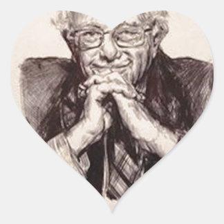 Adesivo Coração Máquinas de lixar de Bernie por Billy Jackson