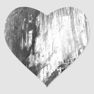Adesivo Coração MEIA ABÓBADA - Yosemite