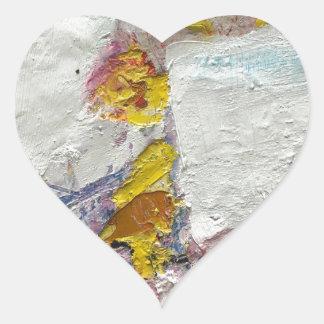 Adesivo Coração Menina bonito em uns trabalhos artísticos