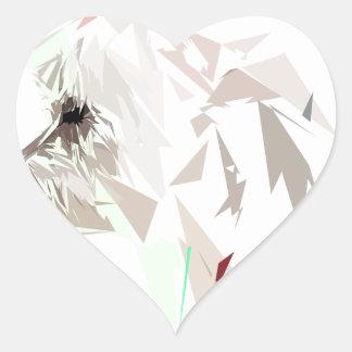 Adesivo Coração Menthéos