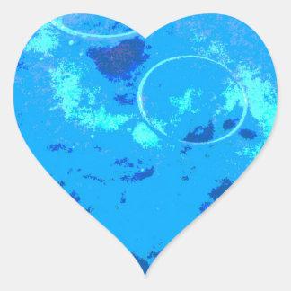 Adesivo Coração Mergulhador de mergulhador de Havaí