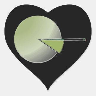 Adesivo Coração Milhões & biliões